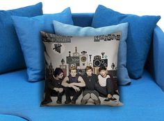 5SOS 5 seconds of summer amnesia 02 Pillow Case Pillow Cover Printed 18x18 16x24 20x30 Modern Pillow Case Decorative Throw Pillow Case One Side Printing   These soft pillowcase made of 50% cotton, 50% polyester.  It would be perfect to decorate your home by using our super soft pillow cases on sofa, chair, bench or bed.  Customizable pillow case is both comfortable and durable, improving the quality of your sleep with these comfortable pillow case, take it home now!  Custom Zippered Pillow…