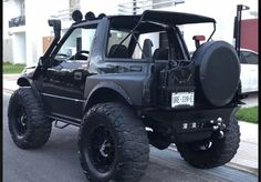 Super pick up truck 25 ideas Mini Trucks, 4x4 Trucks, Geo Tracker, Suzuki Vitara Jlx, Sidekick Suzuki, Jimny 4x4, Mini Jeep, Mazda Bongo, Badass Jeep