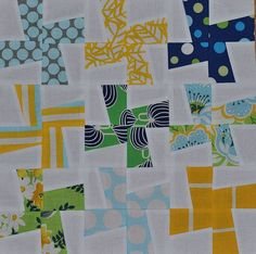 Your quilt pattern will have everyone who sees it twisting and turning to try and follow the pattern of this twister quilt. This block quilt pattern will help make the process of building a somewhat complex-looking quilt pattern into something much easier.