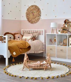 Toddler Room Decor, Toddler Rooms, Baby Room Decor, Baby Bedroom, Nursery Room, Girls Bedroom, Big Girl Bedrooms, Little Girl Rooms, Modern Girls Rooms