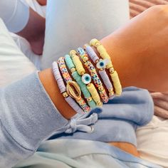 Girls Jewelry, Cute Jewelry, Diy Jewelry, Jewelery, Jewelry Design, Jewelry Making, Bead Jewellery, Beaded Jewelry, Beaded Bracelets