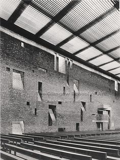 St Bride's Church, East Kilbride Gillespie, Kidd and Coia, 1957-1964 via Flickr