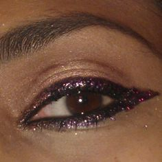 #NYE sneaky peek @Linda Norris Rasowsky Up #glitter eye palette in twilight #pink #purple