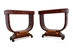 pair of italian art deco console tables c1930 antiques atlas art deco mobel sperrholzmobel