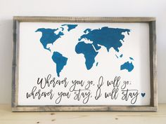 Wherever You Go | World Map