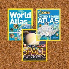 National Geographic Kids World Atlas | Space Encyclopedia