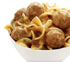 Lean Cuisine Simple Favorites Collection - Swedish Meatballs with Pasta: Swedish meatballs with pasta in a savory gravy. Cookbook Recipes, Cooking Recipes, Healthy Recipes, Swedish Cuisine, Lean Cuisine, Mince Meat, How To Cook Eggs, Greek Recipes, Eating Habits