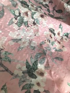"""VINTAGE pastel Pink SHEER cotton box weave FABRIC 48/""""wide DOLL sew by 1//2 YARD"""