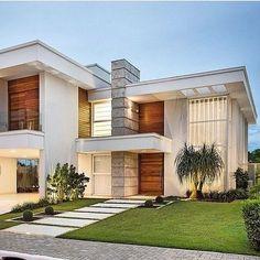 Residência moderna e imponente!  #arquitetura #architecture #house #home #casa #residencia #residenc - km.construtora