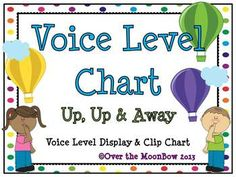 This fun, hot air balloon & polka dot themed voice level chart makes a great anchor display for classroom management. It is an effective visual reminder of classroom expectations. Classroom Organisation, Classroom Themes, Classroom Management, Behavior Management, Kindergarten Classroom, Hot Air Balloon Classroom Theme, Anchor Chart Display, Voice Level Charts, Behavior Clip Charts