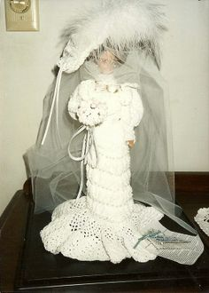 1905 Wedding Gown by historicdolllady on Etsy, $120.00