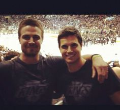 Stephen & Robie Amell