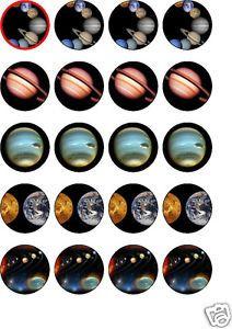 Planet Solar System Cake cakepins.com