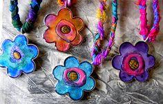 Flower Power Pendants | Flickr - Photo Sharing!