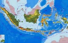 22 best geografi images dan indonesia ciri rh pinterest com