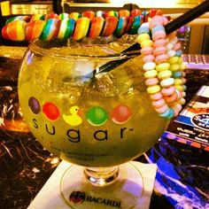 want candy cocktails at Sugar Factory Vegas!
