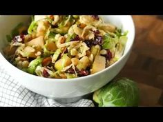 Crunchy Brussels Sprout Salad – 12 Tomatoes