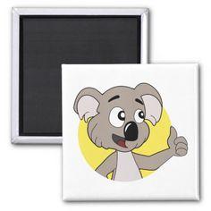 Koala bear cartoon Magnet  Magnets collection  Pinterest