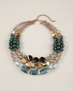 Zola Multi-Strand Necklace in Winter 2012 from Chico's