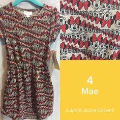 ShopTheRoe | Weekend shopping! $3 shipping - LuLaRoe Collection for Disney Mae 4