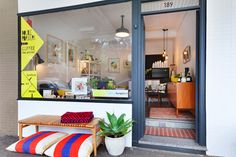 Small Spaces shop front, Redfern   Shop front design   Pinterest ...
