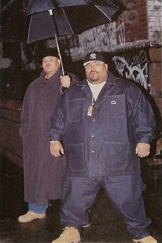 Raps The Rock : Photo of Big Pun & Fat Joe