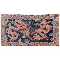 Shop chinese and east asian rugs and other antique and modern rugs from the world's best furniture dealers. Tibetan Dragon, Phoenix Dragon, Asian Rugs, Tibetan Rugs, Rug Store, Oriental Pattern, Rugs On Carpet, Carpets, Modern Rugs