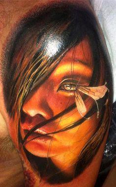 Tattoo Artist - Alex De Pase - face tattoo