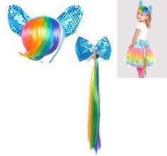 Rainbow Dash Body Jewelry - Party City