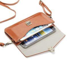 Bagail 6.3 '' Women PU Leather Retro Phone Bags Mini Crossbody Bag, Crossbody Bags