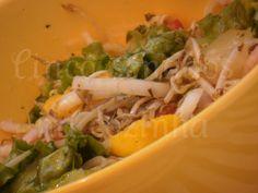 Cinco sentidos na cozinha: Salada Oriental