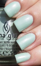 China Glaze Spring 2013 Avant Garden Collection Swatches & Review