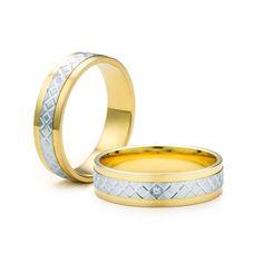 SAVICKI - Obrączki ślubne: Obrączki z dwukolorowego złota (Nr 228) - Biżuteria od 1976 r. Wedding Rings, Engagement Rings, Jewelry, Enagement Rings, Jewlery, Jewerly, Schmuck, Jewels, Jewelery