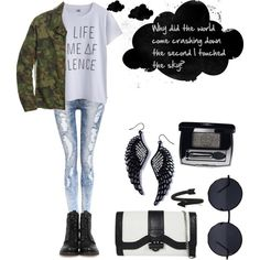 Monochrome Musings on Polyvore