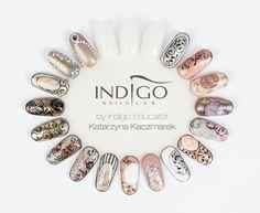 cool Nails Art from Katarzyna Kaczmarek Indigo Educator - Sn Studio Indigo Poznań #n...