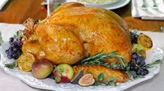 Juicy Turkey Cooked in Cheese Cloth Recipe | Michael Symon | Recipe - ABC News