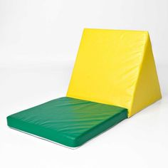 "Sit ""N"" Shape (Yellow and Green) (20""H x 18""W x 18""D)"