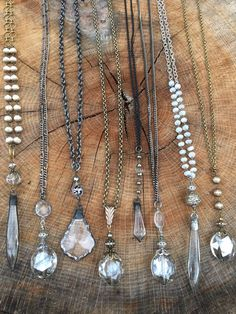 awesome Shine, shimmer and sparkle this holiday season with gemstone and crystal necklac...