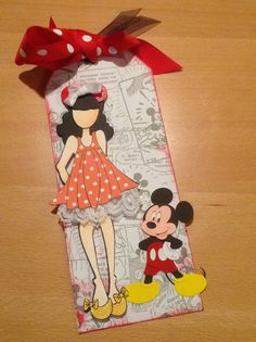 Disney themed. Julie Nutting doll stamp