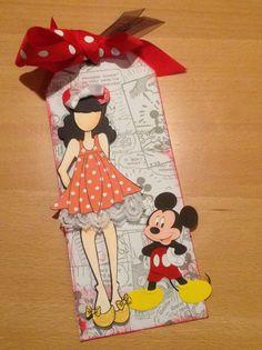 Disney themed. Julie Nutting doll stamp