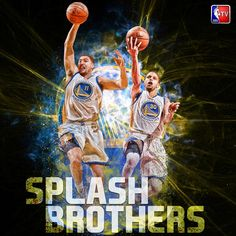 #SplashBrothers RT @NBATV: 45 combined points so far for @StephenCurry30 and @KlayThompson