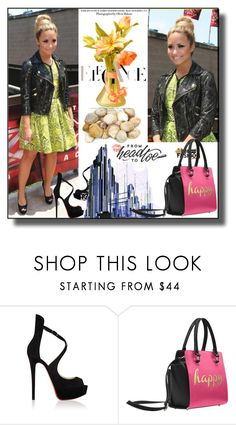 """""""set 142"""" by fahirade ❤ liked on Polyvore featuring Christian Louboutin"""