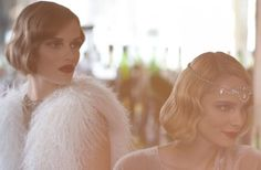 Short hair brides, think about a wavy bob with 20s inspired make up for your #wedding day hairstyle.