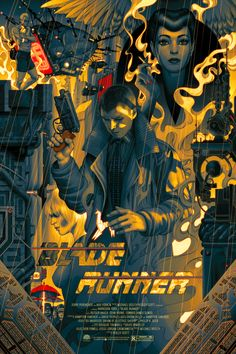 Blade Runner por James Jean