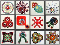Ceramic tiles by Lubna Chowdhary