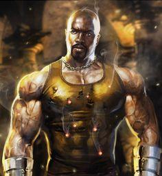 Luke Cage Marvel, Misty Knight, Power Man, Live Action Movie, Comics Universe, Fate Stay Night, Marvel Art, Black Panther, X Men