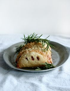 fig, balsamic, rosemary hand pies