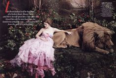 Beauty and the Beast: Drew Barrymore by Annie Leibovitz for Vogue (6)