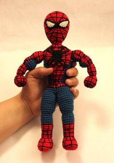 Spiderman Superhero Amigurumi Crochet | Craftsy