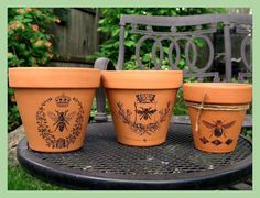 Create low-cost, one-of-a-kind flower pots within minutes